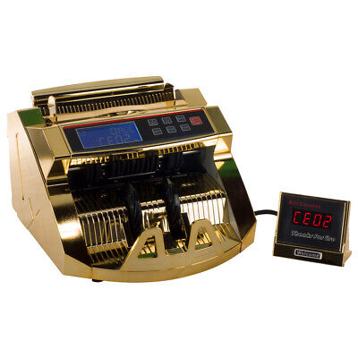 Homeland Goods Gold Money Counter With Uvmg Detection 80w Bill Counter