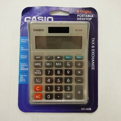 New Casio MS-80B Calculator - Office Electronics for sale  Shipping to India