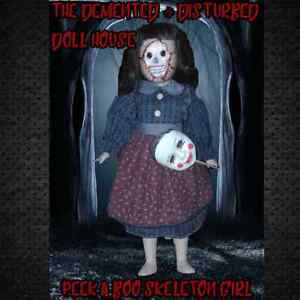 PEEK A BOO SKELETON GIRL - Unique Horror Dolls! Helensvale Gold Coast North Preview
