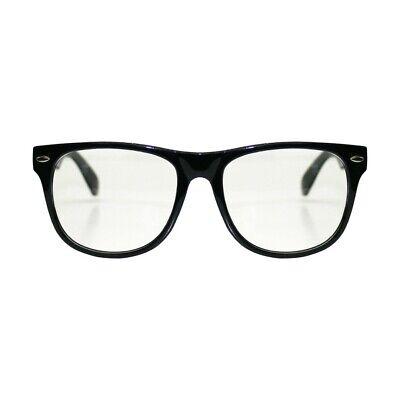 Retro Vintage Square Frame Clear Lens Glasses Fashion Geek Nerd Fake Wayfare