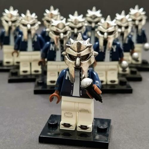 MF DOOM MASK LEGO mini figure NY DOOM Metal Face
