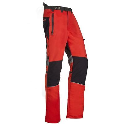 "SIP 1SPV Innovation II Type ""A"" Chainsaw Trousers Red & Black Medium"