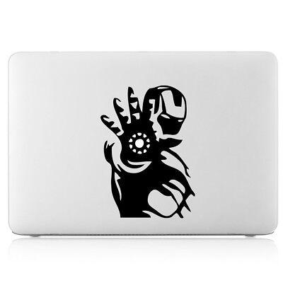 "Iron Man Hand Sticker Viny Decal Skin Cover Apple Macbook Air/Pro/Retina 13""15"""