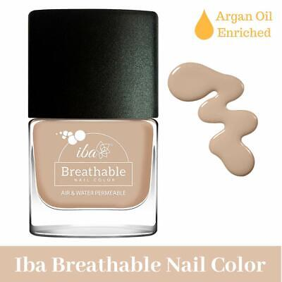 Iba Halal Care Breathable Nail Color, B01 Toasted Almond, 9ml