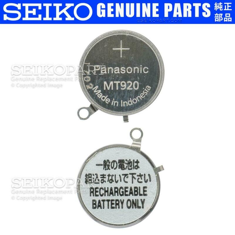 Panasonic MT920 Battery Capacitor Seiko Pulsar Solar V142 V145 V157 V158 VS32