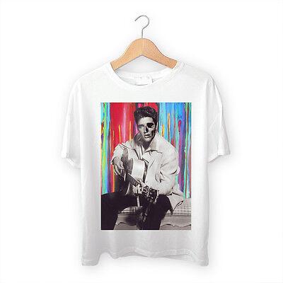 Elvis Is Dead Acid Trip Skull Tee Trill Dope Swag Sk8r Rap Hip Hop Tee T Shirt