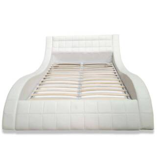 CLEARANCE - Lazo Queen Bed - White