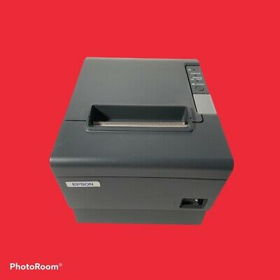 Epson Tm-t88iv Pos Thermal Printer M129h Includes Power Supply.free Paper