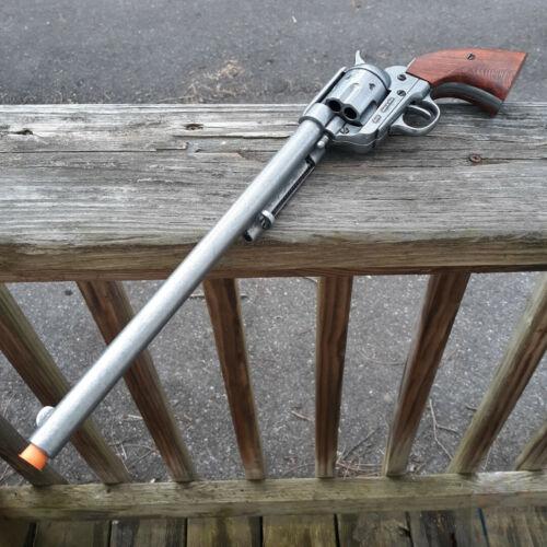 Denix Buntline Special 45 Caliber Replica Gun Non-Firing Locks Antique-Finished