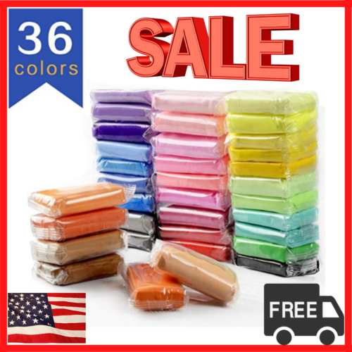 Air Dry Clay DIY 36 Colors Ultra Light for Modeling , Creati