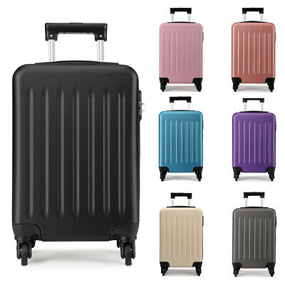 Mini Cabin Bag - Mini 19 inch Wheeled Case Bag Hand Cabin Spinner Trolley Luggage Hold Suitcase