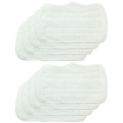 8 pack Replacement Microfiber Pads For Shark Steam Mop Euro Pro S3250 S3101 (Euro Pro Steam Mop)
