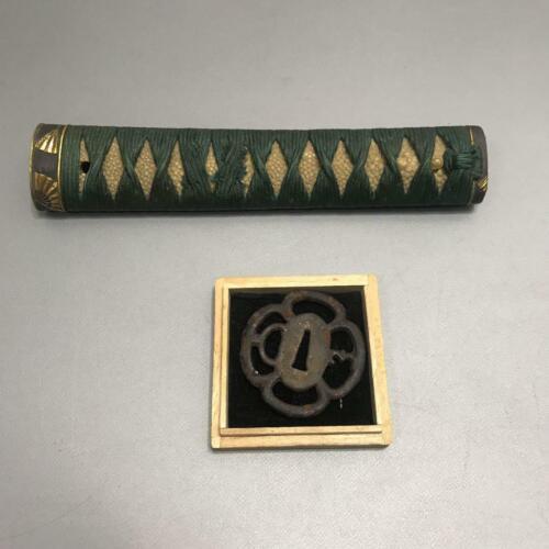 Japanese Samurai sword antique Sword fittings brim dagger wakizashi martial arts
