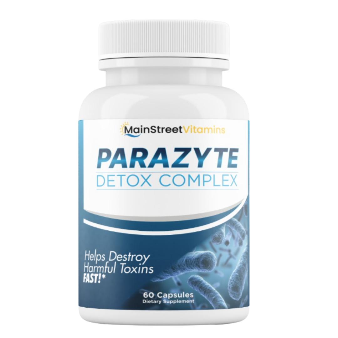 Parazyte Detox Complex Powerful Parasite Cleanse for Humans 60 Capsules