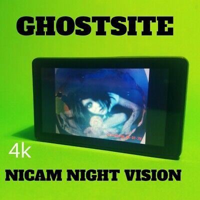 Night Vision Action Cam Paranormal Ghost Hunting 4k TOUCH SCREEN Facebook Live for sale  Shipping to India