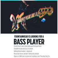 Bass player wanted for a experimental metal band.