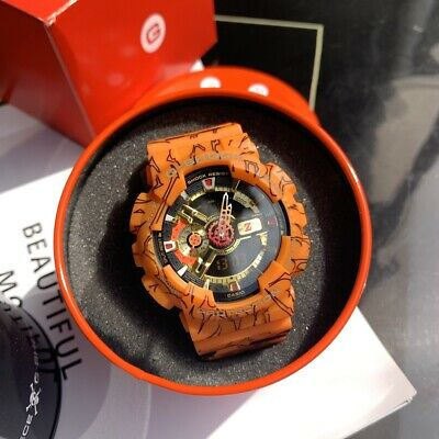 NEW G-SHOCK Dragon Ball Z Limited Edition Men's Watch GA110JDB-1A4