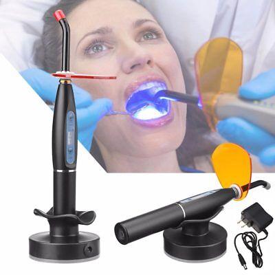 New 2019 Dental 10w Wireless Cordless Led Curing Light Lamp 2000mw Us Free Ship