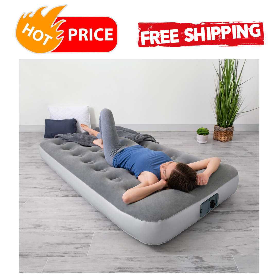 air bed mattress inflatable with built in