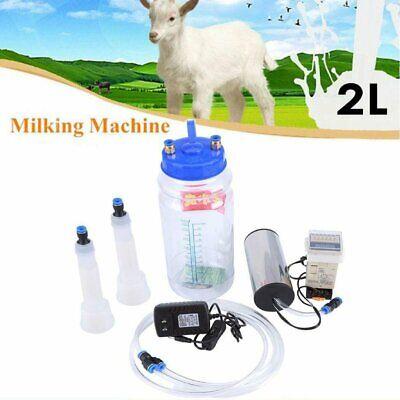 Melkmaschine Vakuumpumpe Milker Melkeimer Kühe Zeigen Edelstahl 2 Liter BUY