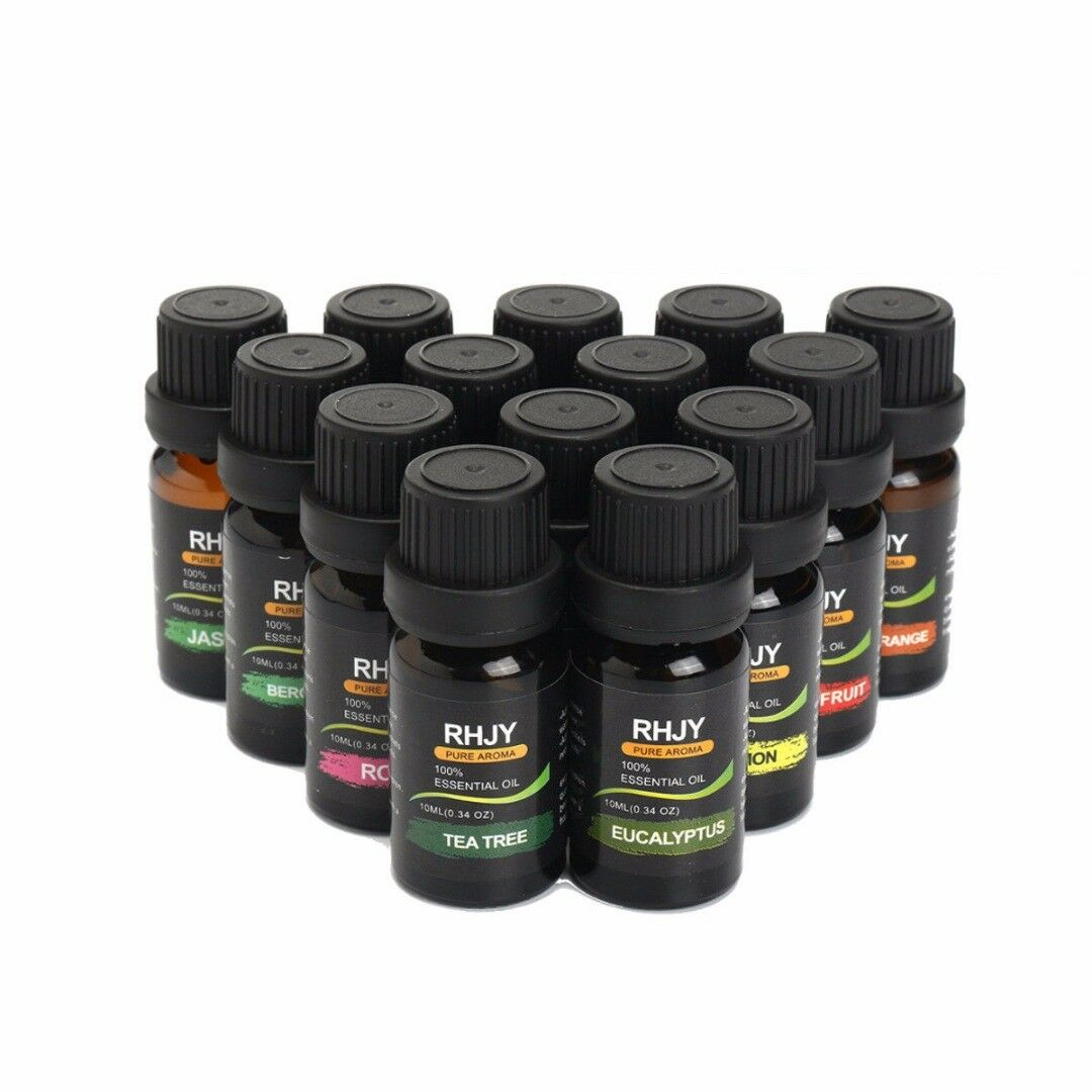 Essential Oils Set of 6/14 -100% Pure Natural Plant Aromatherapy Kit 10ml Gift