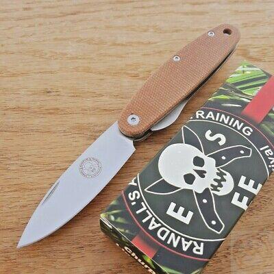 BRK Designed by ESEE Churp Folding Knife 2.70 D2 Tool Steel Blade Micarta Handle