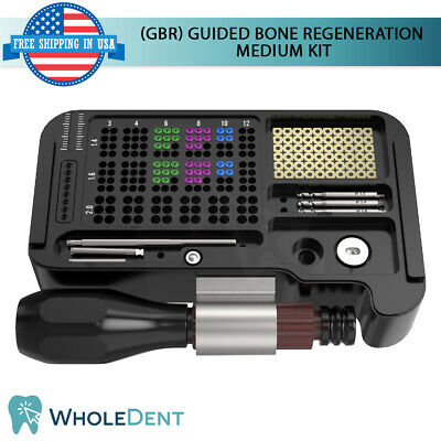 Gbr System Surgical Medium Kit Guided Bone Regeneration Fixation Dental Implant