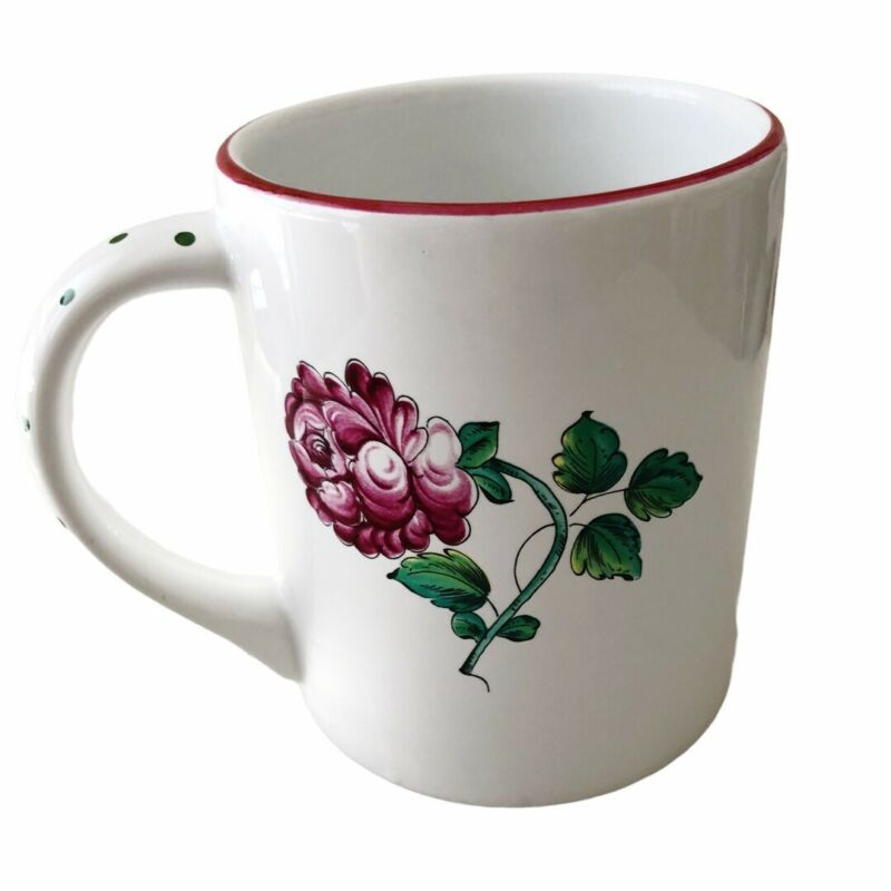 Tiffany & Co Strasbourg Flowers Made In Portugal Mug