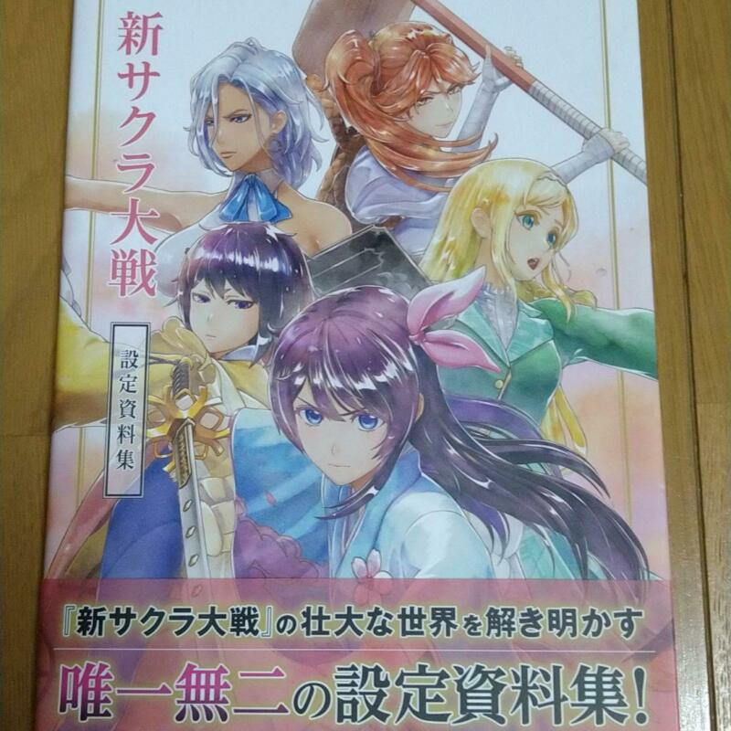Shin Sakura Taisen / Sakura Wars Collection of setting materials (Art Book)