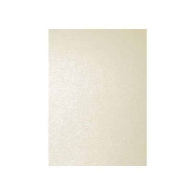 100 Blatt A4 120g Metallic Perlmutt Elfenbein Papier Clairefontaine Pollen