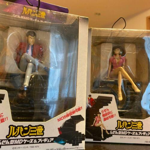 Lupin the Third MD Mini Disk Tower Case Figure Fujiko NOS japan