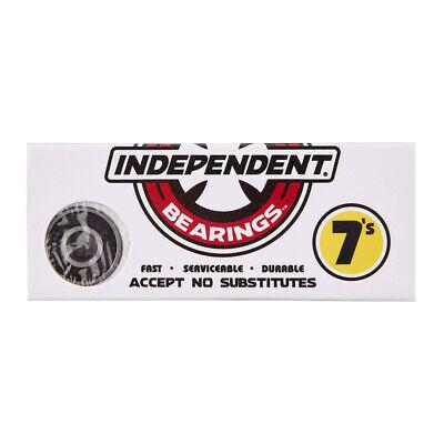 """Independent Truck Co """"Genuine 7s"""" Bearings (Black) Skateboard Deck Fast Bearings"""