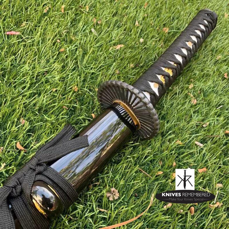 Kiku Sukashi Iaito Unsharpened Blade Training Practice Japanese Katana Sword