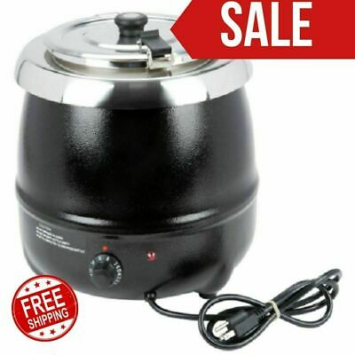 11 Qt. Counter Top Sauces Soup Nacho Cheese Chilis Kettle Warmer Resto Bar Party