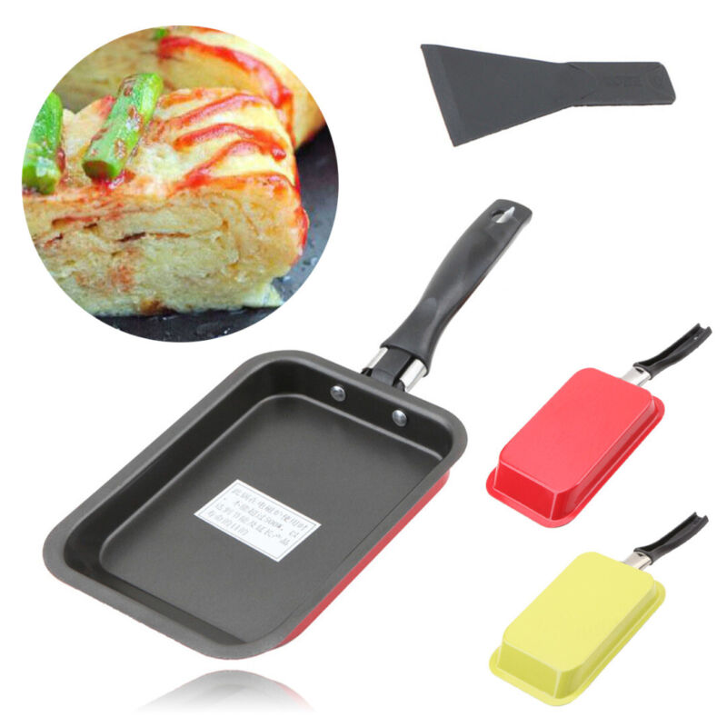 Japanese Tamagoyaki Egg Roll Sushi Omelette Square Frying Pa