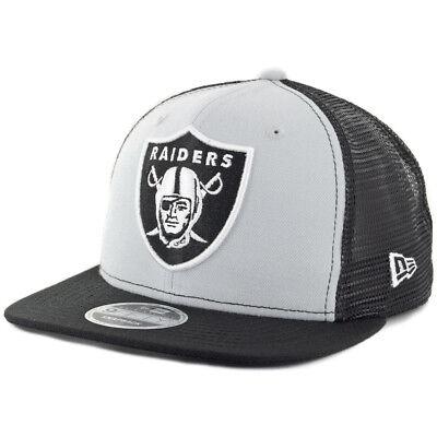 "New Era 9Fifty Oakland Raiders ""Trucker"" Snapback Hat  NFL"