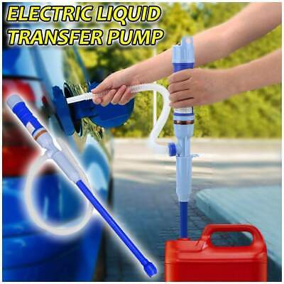 New Battery Powered Operated Gas Oil Water Liquid Transfer Siphon Pump Mn E 03