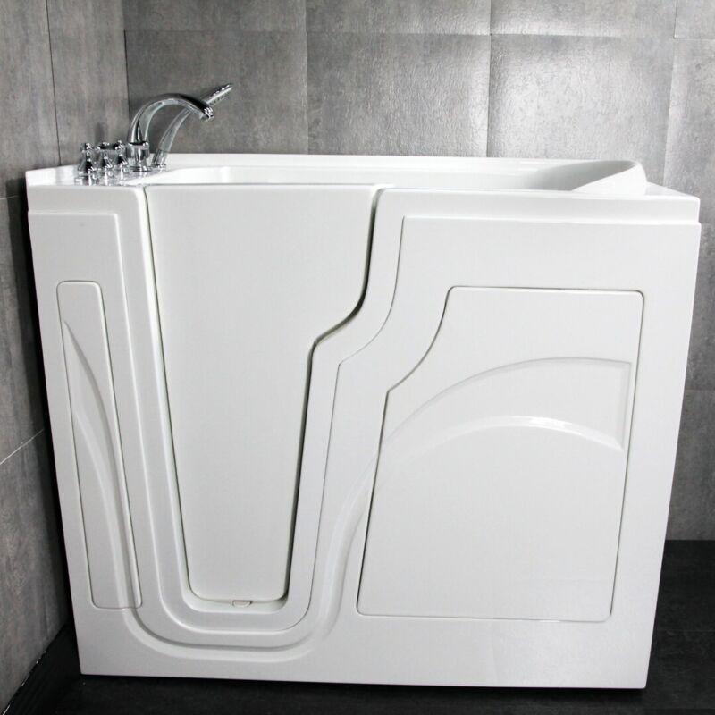 Walkin Soaker Tub Health Smart Walk in Bath tub - Brand New