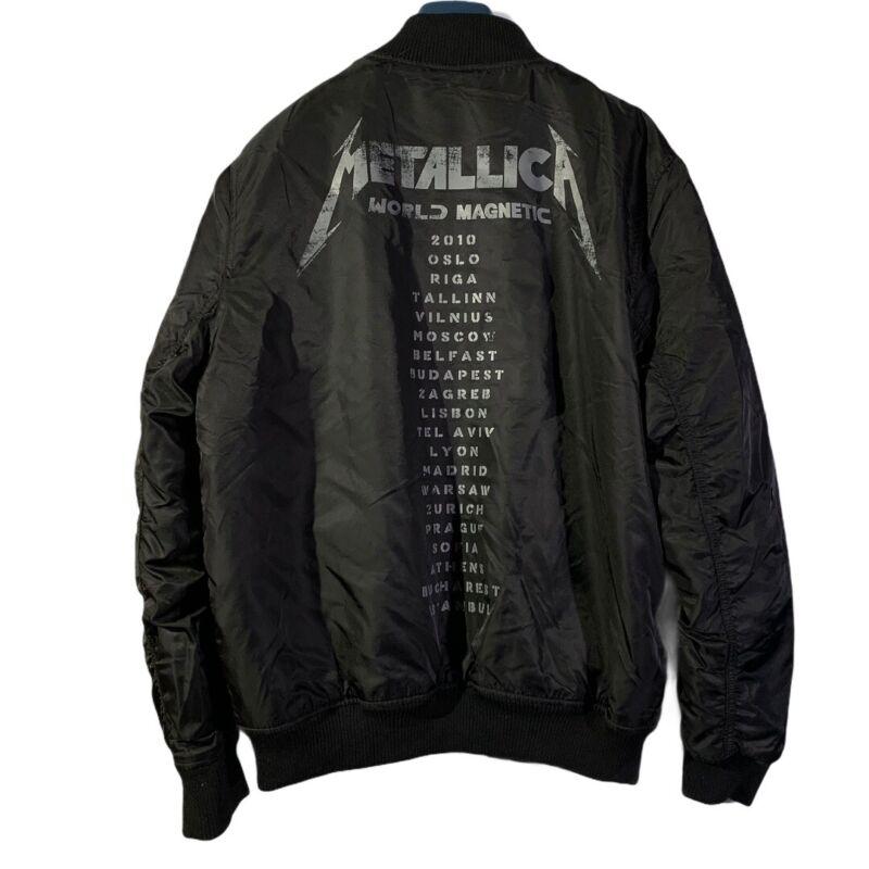 Metallica H&M World Magnetic World Tour Bomber Jacket Large