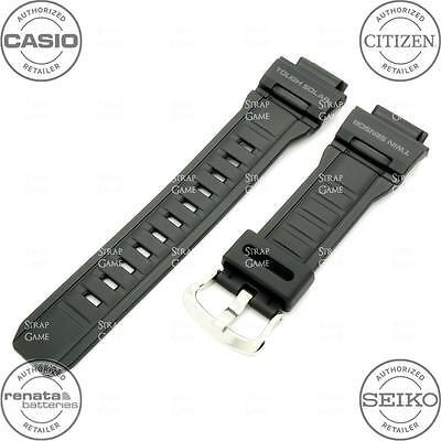 CASIO 10388870 Resin Rubber Watch Band for G-SHOCK MUDMAN G-9300 G9300-1, Black