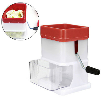 Portable Abs Manual Ice Shaver Shredding Machine Crusher Snow Cone Maker Tool