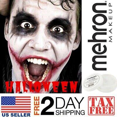Paint Joker Face (Halloween White Makeup Kit Clown Joker Face Paint Costume Accessory Festival)