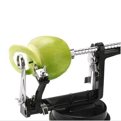 Apple / Potato Peeler, Corer Remover, slicer vonshef 3 in 1 In Black Aluminium