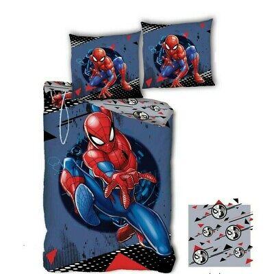 Spiderman Marvel - Kinder Jugend Microfaser Bettwäsche Set 135/140x200 NEU