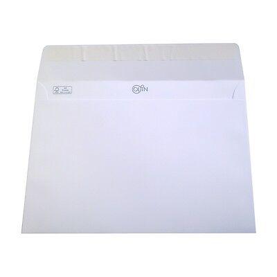 25 Olin DIN C5 Absolute White Regular Briefumschlag Hoch Weiss 120g 162x229