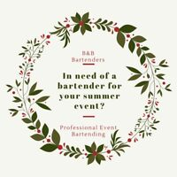 Experienced Event Bartenders for Hire