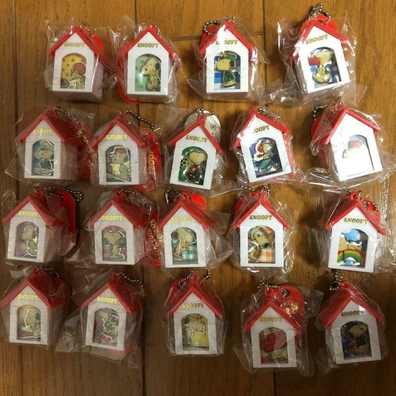 PEANUTS Snoopy Pins House Collection 19 types New unused