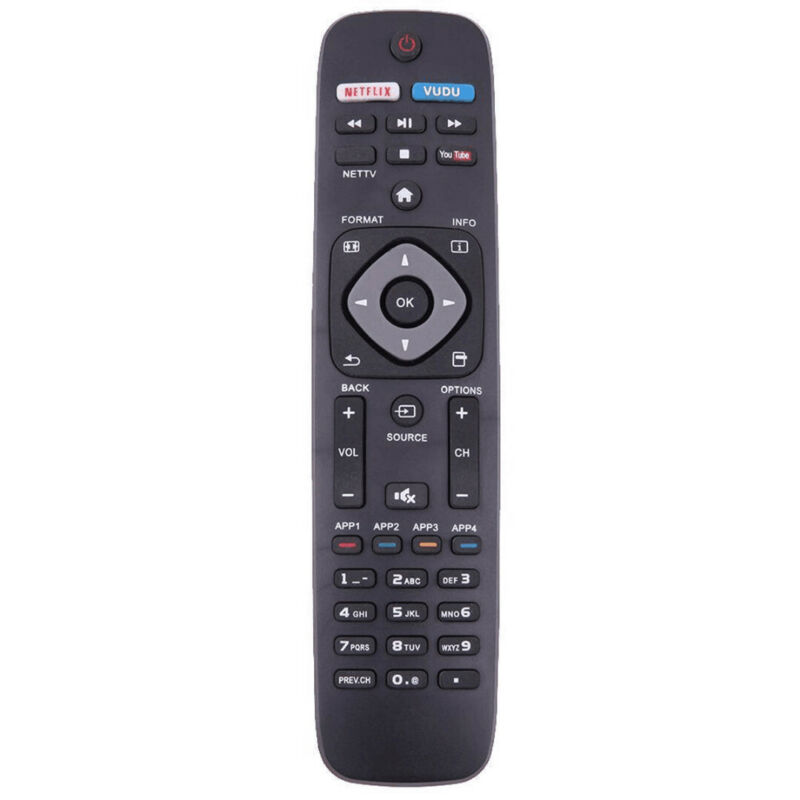 replacement remote control controller for philips nh500up