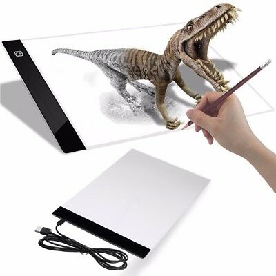 A4 Regolabile LED Art Light Box Tattoo Stencil Drawing Board Tracing Table Pad