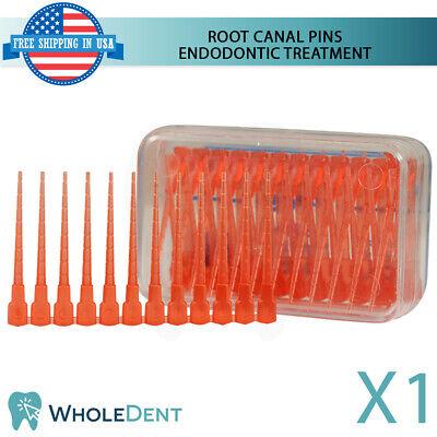 Root Canal Treatment Pins Dental Endodontic Polycarbonate 60pcs Anchor